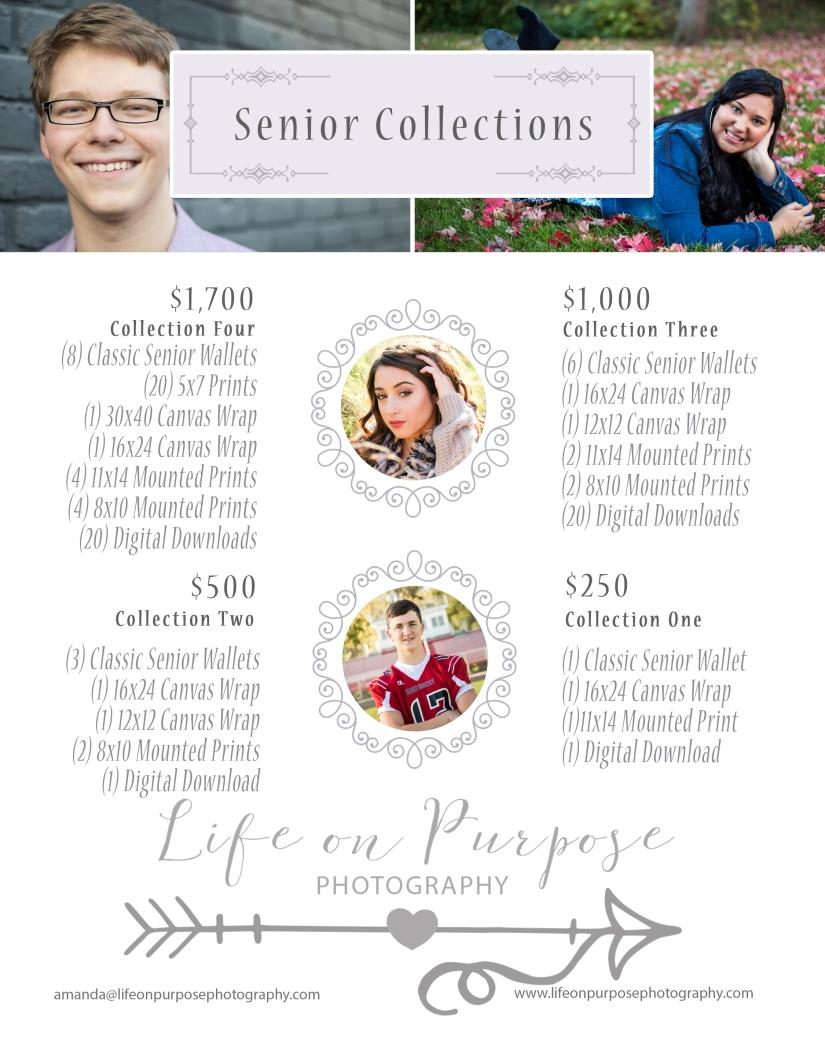 Senior Collection Pricing